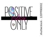 typography slogan with... | Shutterstock .eps vector #1209980032