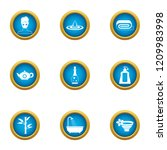 society icons set. flat set of... | Shutterstock .eps vector #1209983998