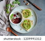 delicious homemade healthy meal ... | Shutterstock . vector #1209991312