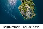 drone view of the fannette... | Shutterstock . vector #1210016545