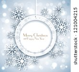 vector shiny holiday background ... | Shutterstock .eps vector #121004215