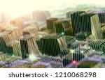 mesh and net stucture with... | Shutterstock . vector #1210068298