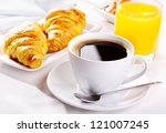 Breakfast With Cup Of Coffee ...