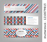 collection banners with... | Shutterstock .eps vector #1210079815