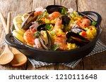 homemade freshly prepared... | Shutterstock . vector #1210111648