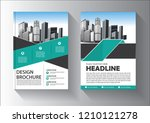 cover  layout  brochure ... | Shutterstock .eps vector #1210121278