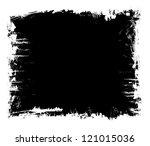 paint splash frame   Shutterstock . vector #121015036
