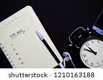 notebook  smartphone  earphone... | Shutterstock . vector #1210163188