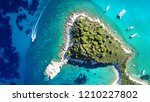 aerial drone bird's eye view... | Shutterstock . vector #1210227802