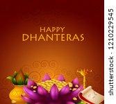 inidan holiday of happy... | Shutterstock .eps vector #1210229545