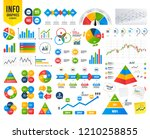 business infographic template.... | Shutterstock .eps vector #1210258855