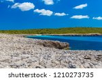 menorca island south... | Shutterstock . vector #1210273735