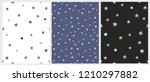 set of 3 varius star vector... | Shutterstock .eps vector #1210297882