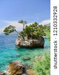brela stone  croatia   Shutterstock . vector #1210332928