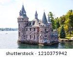 historic boldt castle in the... | Shutterstock . vector #1210375942