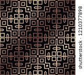 art deco pattern. seamless... | Shutterstock .eps vector #1210377898