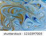 marble abstract acrylic... | Shutterstock . vector #1210397005