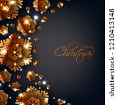 merry christmas party... | Shutterstock .eps vector #1210413148