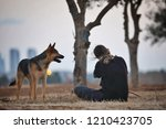 dogs are the best | Shutterstock . vector #1210423705