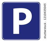public parking sign   Shutterstock .eps vector #1210435045