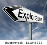 exploitation of natural...   Shutterstock . vector #121045336