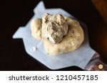Small photo of white truffle from alba