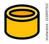 isometric hollow tube | Shutterstock .eps vector #1210457512