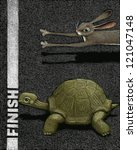Stock photo illustration of race 121047148