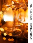 detail of champagne glass with... | Shutterstock . vector #1210493782
