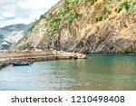 view of vernazza lagoon and... | Shutterstock . vector #1210498408
