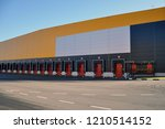 innovative logistic warehouse... | Shutterstock . vector #1210514152
