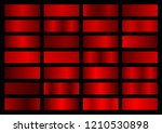 vector collection of red... | Shutterstock .eps vector #1210530898