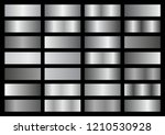 vector collection of silver... | Shutterstock .eps vector #1210530928