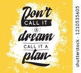 inspirational quote  motivation.... | Shutterstock .eps vector #1210535605