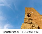 ancient roman structure called... | Shutterstock . vector #1210551442
