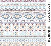 mayan american indian pattern...   Shutterstock .eps vector #1210572085