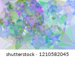 geometric low polygonal... | Shutterstock .eps vector #1210582045