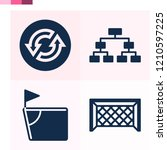 contains such icons as corner ... | Shutterstock .eps vector #1210597225