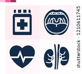 contains such icons as medicine ... | Shutterstock .eps vector #1210611745