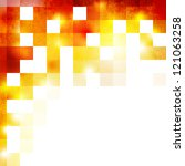 grunge geometric background | Shutterstock . vector #121063258