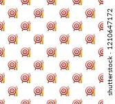 target arrow pattern seamless...   Shutterstock .eps vector #1210647172