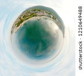 seafront view 360 at west... | Shutterstock . vector #1210649488