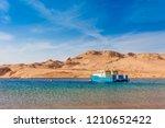 red sea coast shore in the ras... | Shutterstock . vector #1210652422