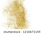 gold glitter texture isolated... | Shutterstock .eps vector #1210671145