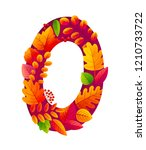 bright autumn leaves in zero... | Shutterstock .eps vector #1210733722