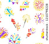 bang party and celebration of... | Shutterstock .eps vector #1210798228