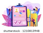 recruiters and managers... | Shutterstock .eps vector #1210813948