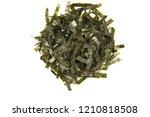 seal of dried seaweed in a... | Shutterstock . vector #1210818508