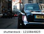 riga  september 2018   new... | Shutterstock . vector #1210864825