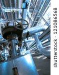 industrial zone  steel...   Shutterstock . vector #121086568